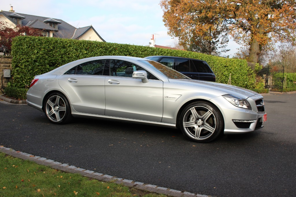 used Mercedes CLS63 AMG AMG 7G-Tronic Plus (s/s) 4dr in knutsford-cheshire