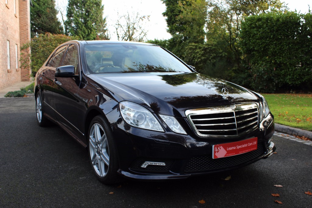 used Mercedes E500 SPORT in knutsford-cheshire
