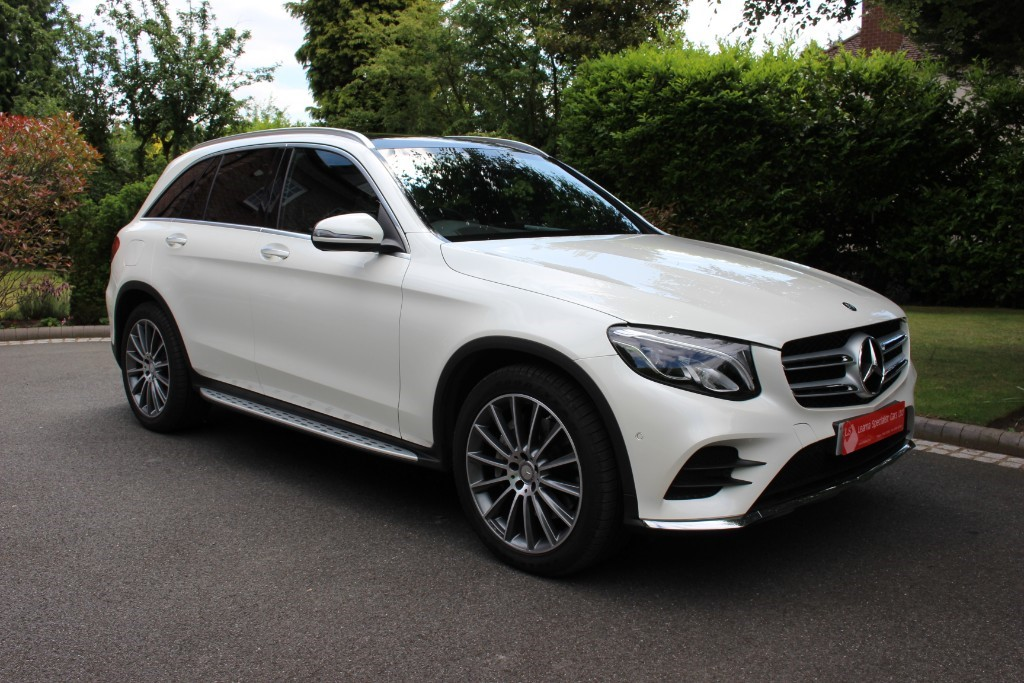 used Mercedes GL C-CLASS GLC 220 D 4MATIC AMG LINE PREMIUM in knutsford-cheshire