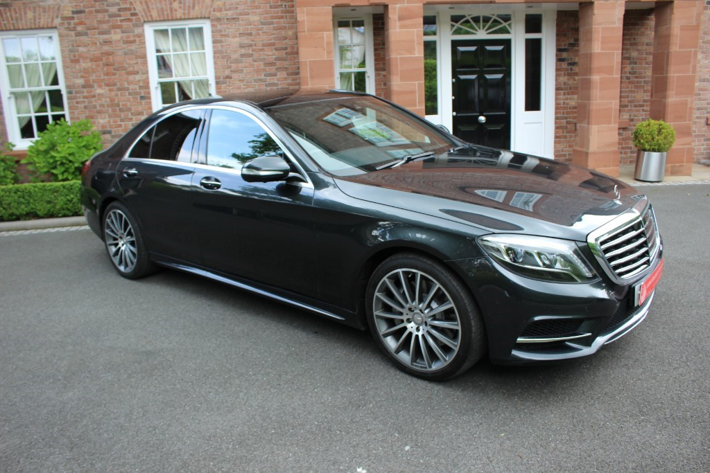 used Mercedes S350 S350 CDI BlueTEC AMG Line in knutsford-cheshire