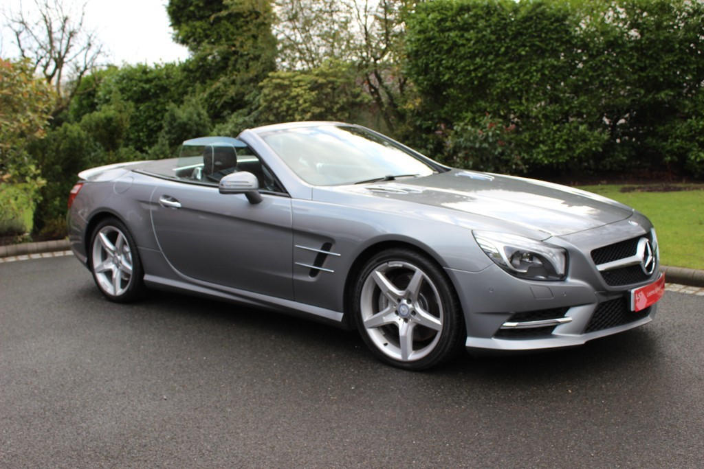 used Mercedes SL SL500 AMG SPORT in knutsford-cheshire