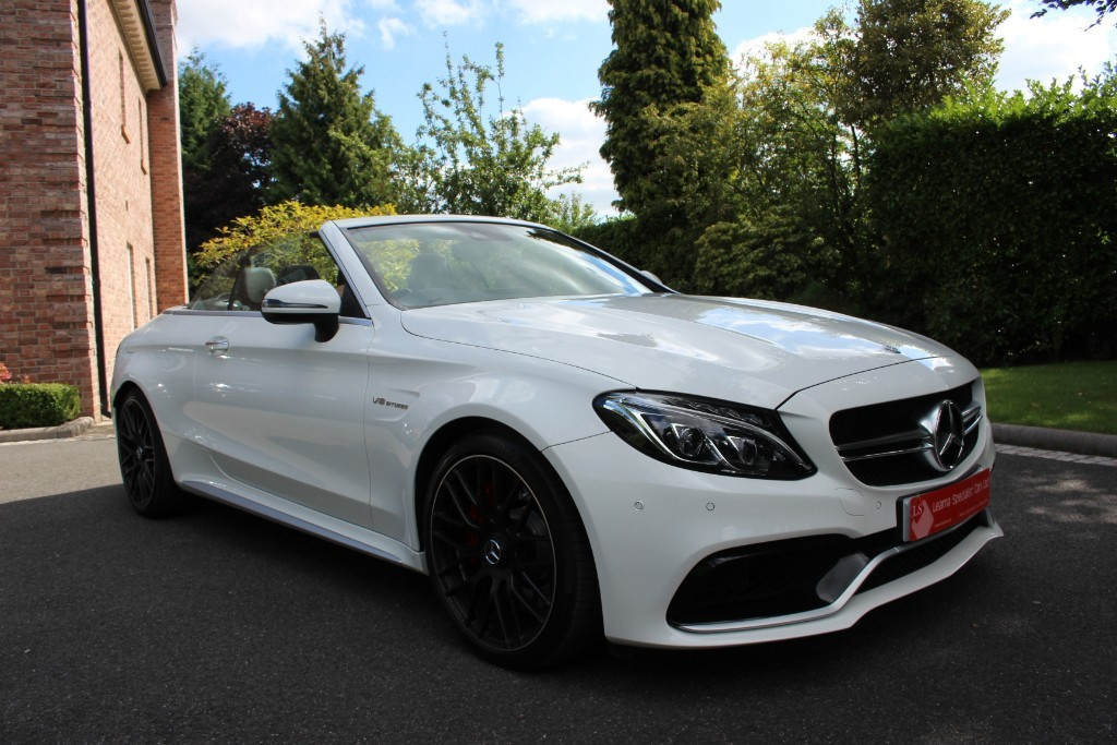 used Mercedes  C-CLASS AMG C 63 S PREMIUM in knutsford-cheshire
