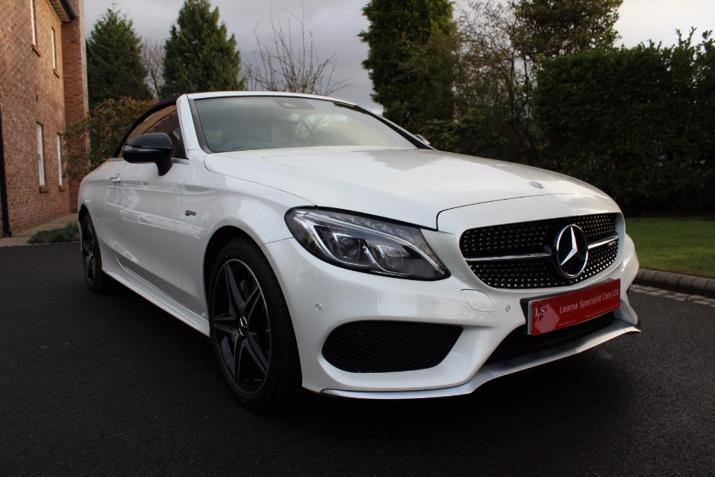 used Mercedes C43 AMG AMG C 43 4MATIC in knutsford-cheshire