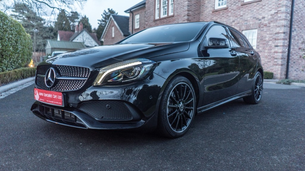 used Mercedes  A-CLASS A 220 D AMG LINE PREMIUM PLUS in knutsford-cheshire