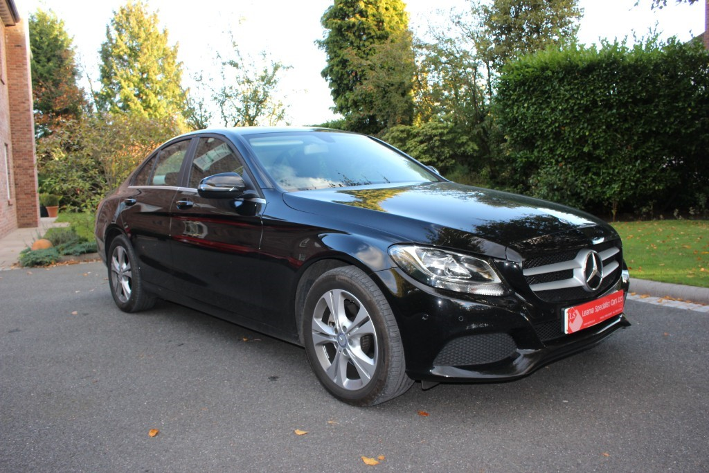 used Mercedes  C-CLASS C 220 D SE EXECUTIVE EDITION in knutsford-cheshire