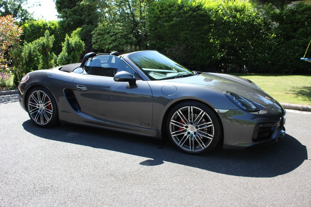 used Porsche Boxster GTS PDK in knutsford-cheshire