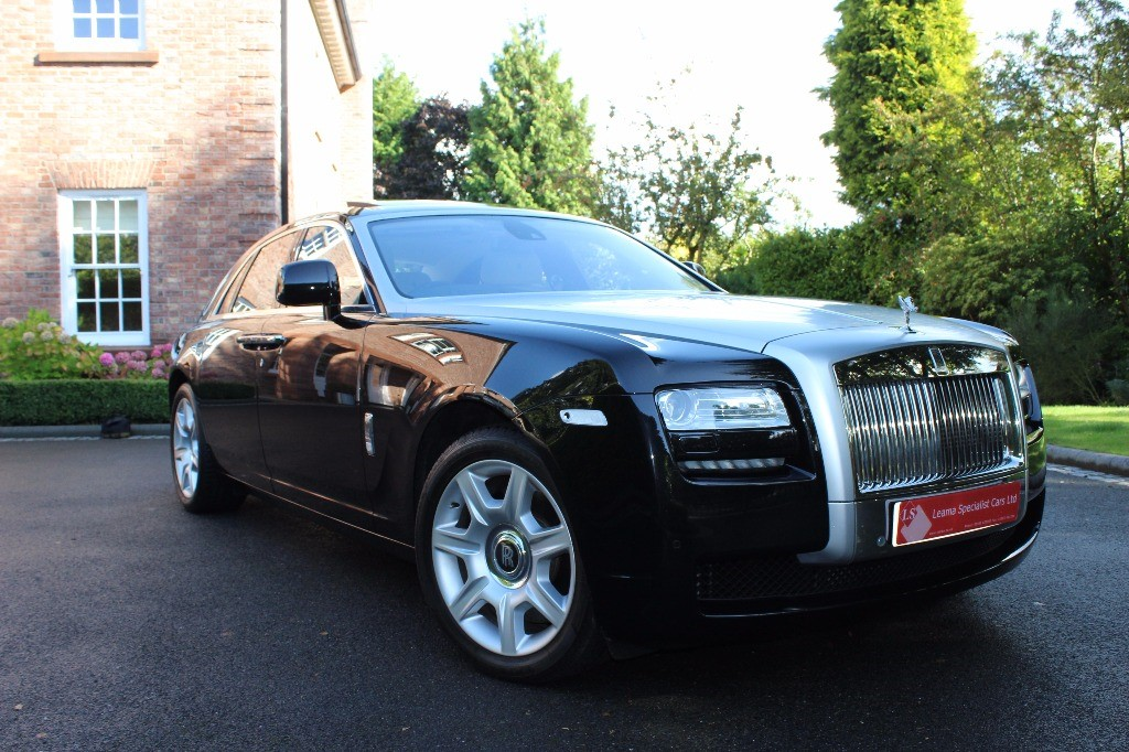 used Rolls-Royce Ghost 6.6 in knutsford-cheshire