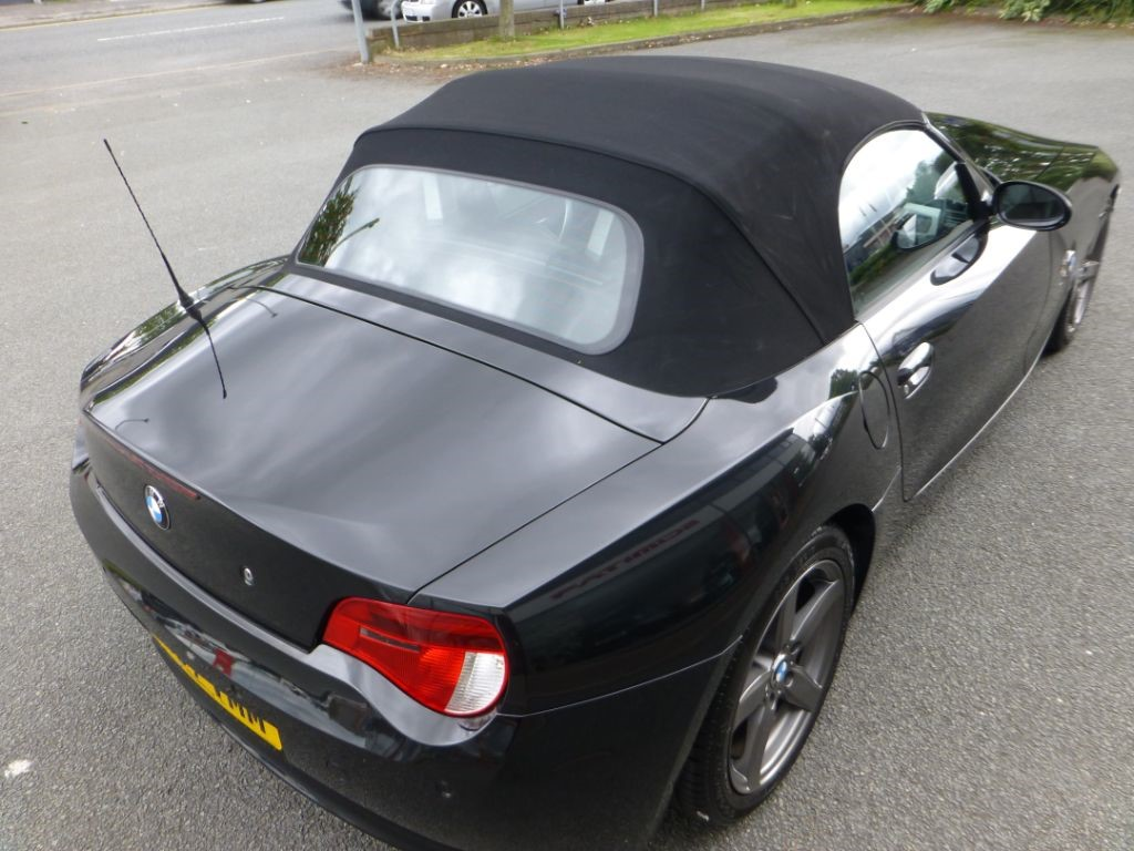 Used Black Bmw Z4 For Sale Cheshire