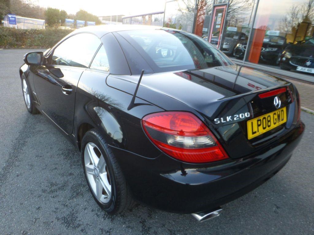 Used Black Mercedes Slk For Sale Cheshire
