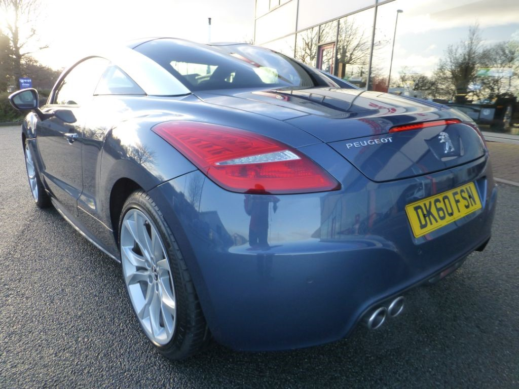 used blue peugeot rcz for sale cheshire. Black Bedroom Furniture Sets. Home Design Ideas
