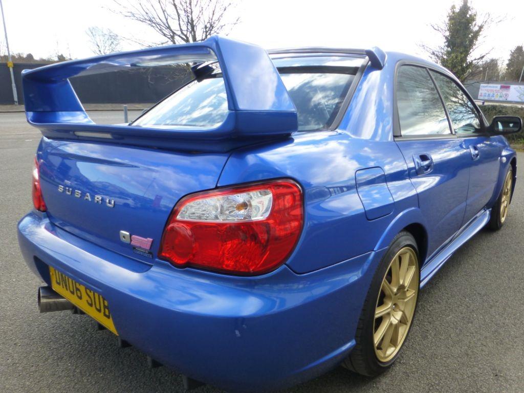 Used World Rally Blue Subaru Impreza For Sale | Cheshire
