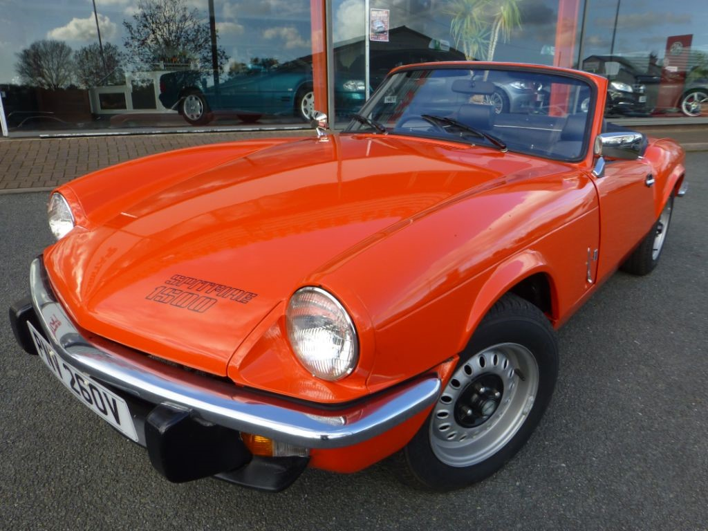 used flamenco red triumph spitfire for sale cheshire. Black Bedroom Furniture Sets. Home Design Ideas