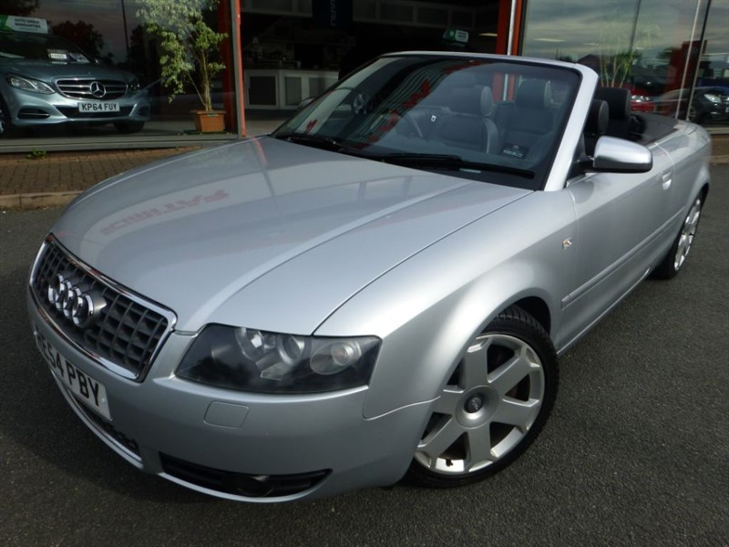 used Audi A4 S4 QUATTRO + MILTEC S/S EXHAUST + SERVICE HISTORY + LOVELY EXAMPLE  in chester