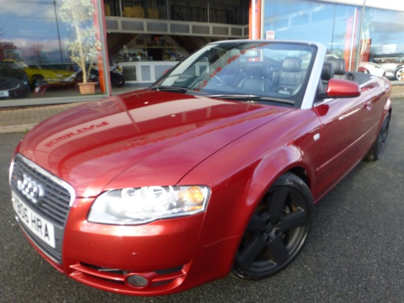 used Audi A4 T FSI S LINE + FRONT & REAR PARKING SENSORS + POWER HOOD + BLACK LEATHER ++ in chester