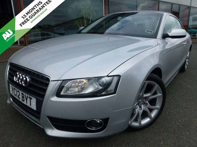 used Audi A5 TDI SPORT + 1 OWNER + SAT-NAV + LEATHER + FSH in chester