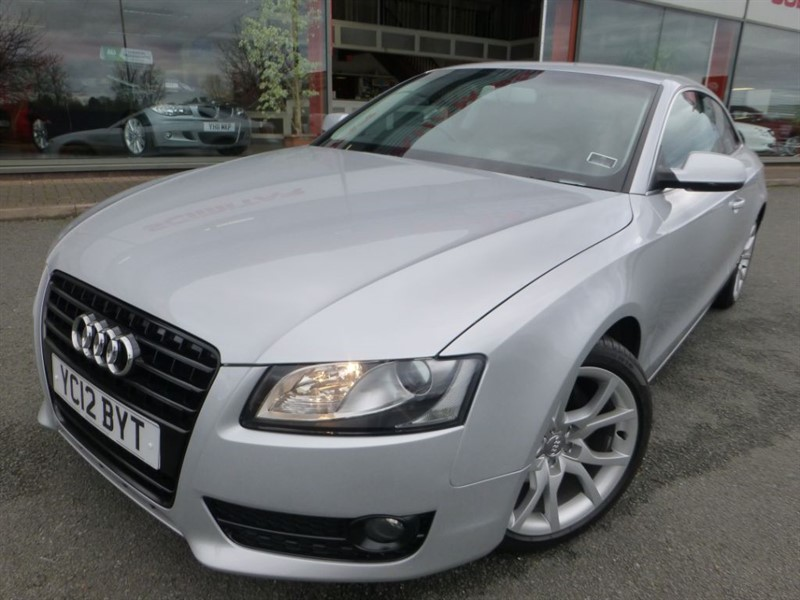 used Audi A5 TDI SPORT + 1 OWNER + SAT-NAV + LEATHER + FSH + PRIVACY GLASS  in chester