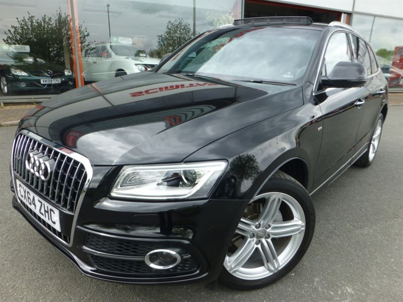 used Audi Q5 TDI QUATTRO S LINE PLUS S/S + 1 OWNER + FASH + PAN ROOF + PRIVACY ++  in chester