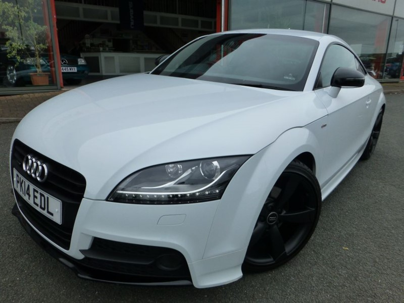 used Audi TT TDI QUATTRO BLACK EDITION + ONLY 12,000 MILES +1*LOCAL LADY OWNER + SAT-NAV in chester