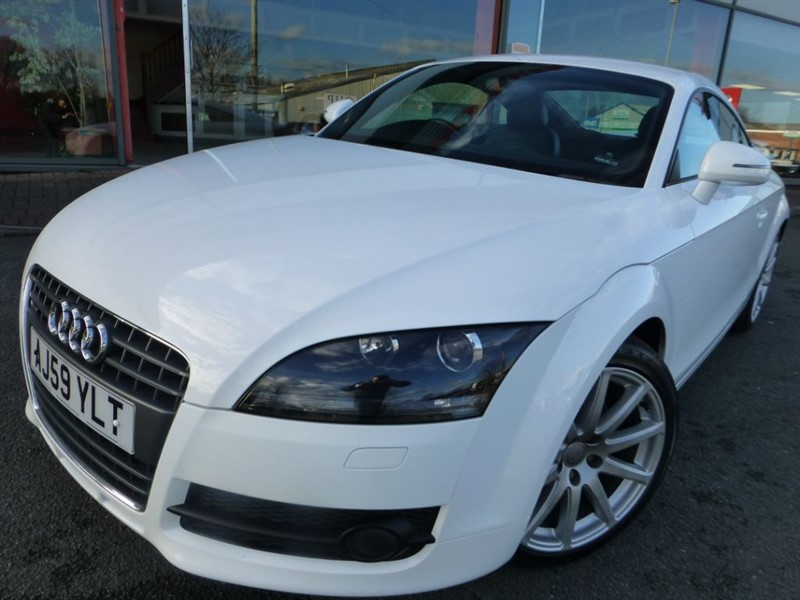used Audi TT TDI QUATTRO + FSH + BLUETOOTH + HALF SUEDE/LEATHER + XENONS + AIR-CON in chester