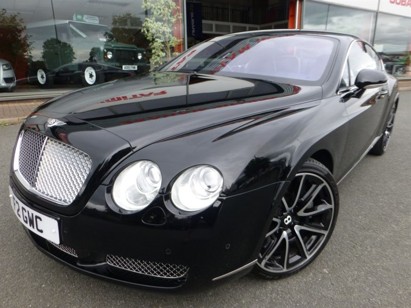 """used Bentley Continental GT + FBSH ( 10* STAMPS ) + 20"""" UPGRADE ALLOYS + BEST COLOUR + STUNNING EXAMPLE in chester"""