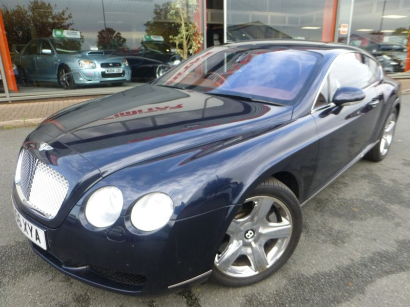 used Bentley Continental GT AS NEW CONDITION + FULL BENTLEY SERVICE HISTORY + LOVELY COLOUR CONBINATION in chester