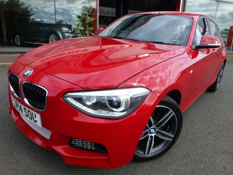 used BMW 114d SPORT + LOW MILES + CAT D VERY MINOR DAMAGE + SENSORS + 1 OWNER in chester