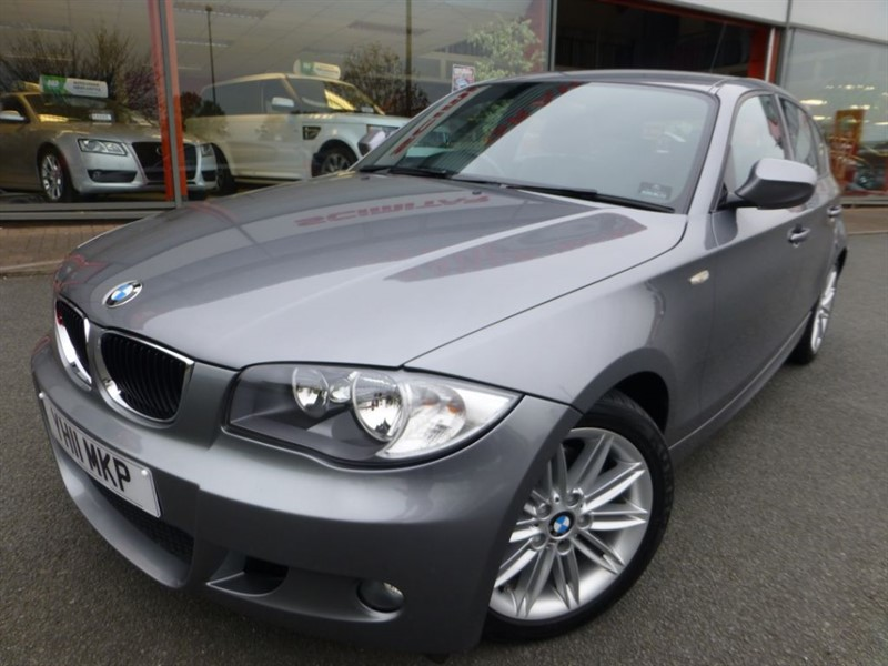 used BMW 118d M SPORT + LOW MILES + FSH + HALF LEATHER + REVERSE PARK SENSORS + MINT in chester