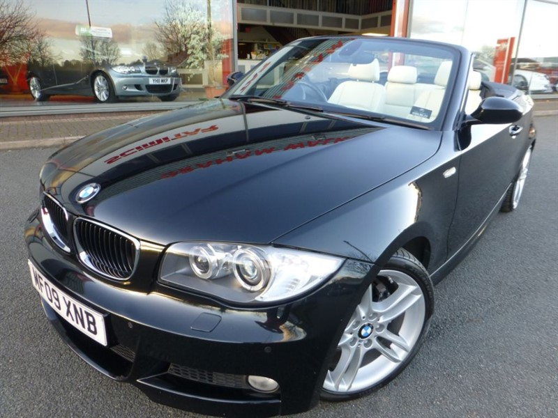 used BMW 120d M SPORT + HEATED LEATHER + FSH + FRONT PARKING SENSORS +  in chester