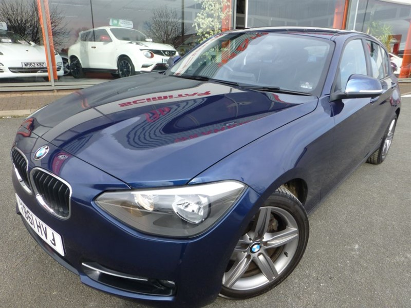 used BMW 120d SPORT + FBMWSH + 2 OWNERS + LOW MILES & LOVELY CONDITION in chester