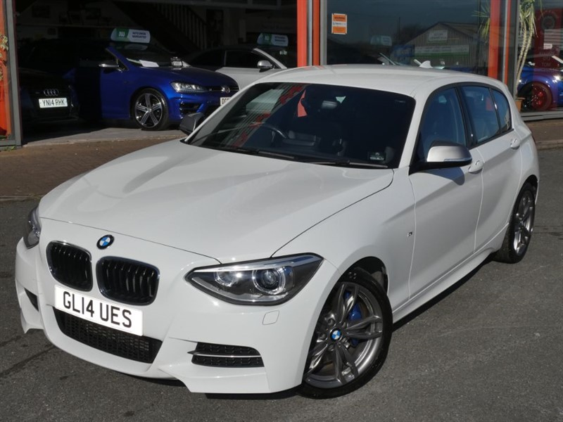 used BMW M135i + LOW MILES + FBMWSH + LEATHER + 18
