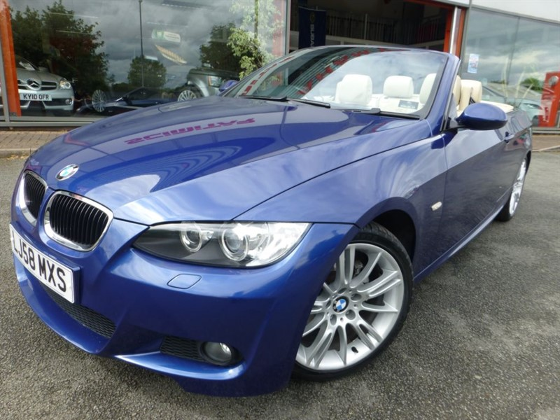 """used BMW 320i M SPORT + LOW MILES + 18"""" ALLOYS + FSH + HEATED LEATHER + DUAL AIR CON ++ in chester"""