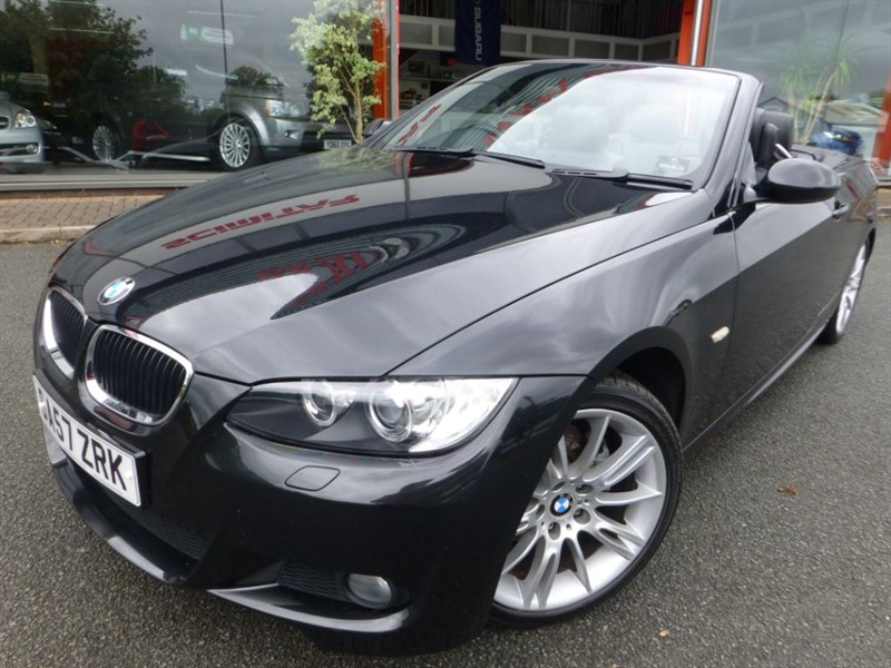 """used BMW 320i M SPORT + ELECTRIC MEM SEATS + POWER ROOF + DUAL C/C + FSH + 18"""" ALLOYS  in chester"""