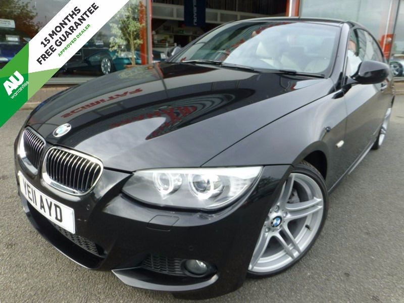 """used BMW 330d M SPORT + 19"""" ALLOYS + FBMWSH + 2 OWNERS + LOW MILES + BEIGE HEATED LEATHER in chester"""