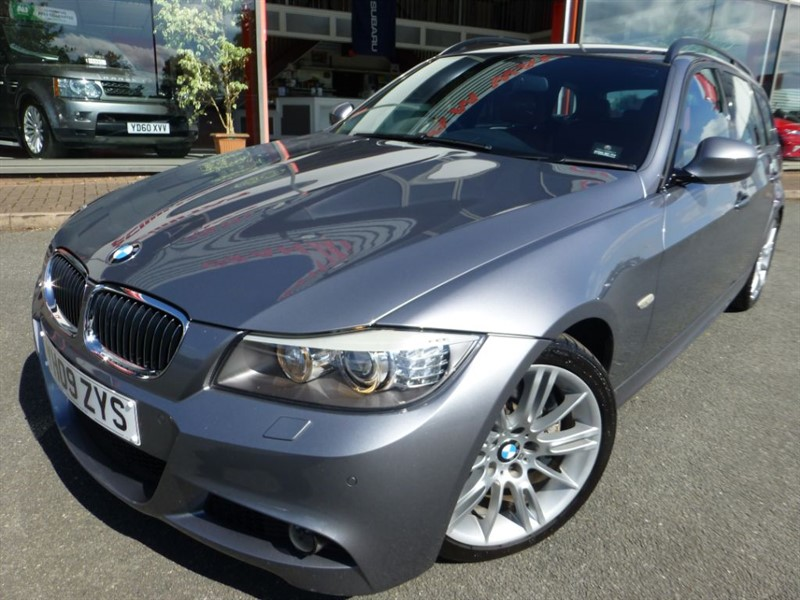 used BMW 335i M SPORT TOURING + PRO SAT-NAV + TOW BAR + BMWSH +  305 BHP + SAT-NAV + WOW in chester
