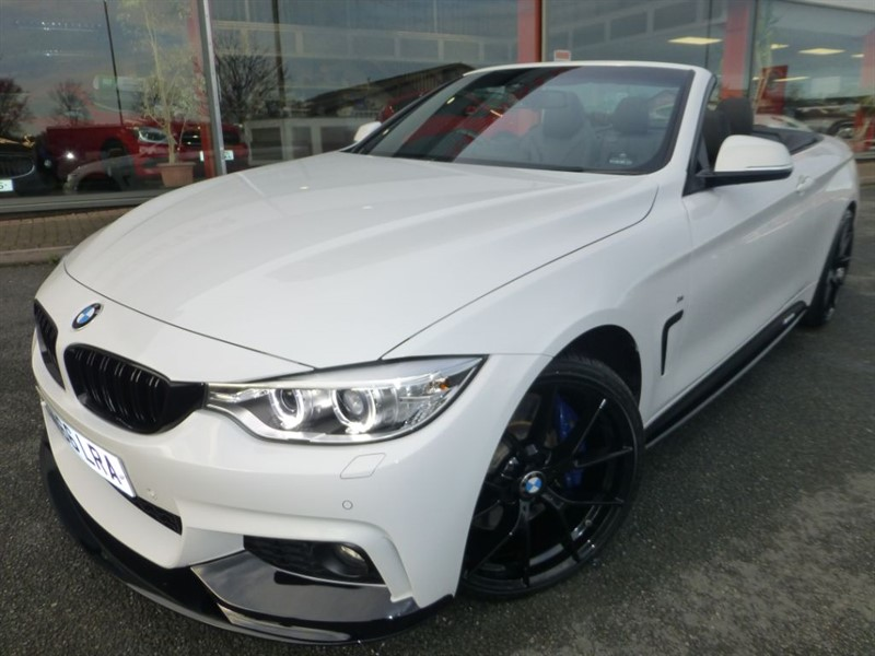 "used BMW 435d XDRIVE M SPORT + 20"" ALLOYS + STYLING KIT + SAT-NAV + LIKE NEW CONDITION + in chester"