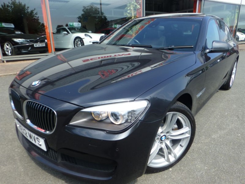 used BMW 740d M SPORT + WOW SPEC + 2 OWNERS + FSH + NAV + REAR SEAT ENTERTAINMENT + MINT  in chester