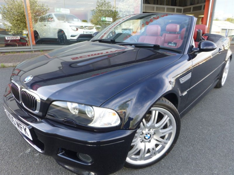 "used BMW M3 + 19"" ALLOYS + FSH + RED LEATHER + LOW MILES + STUNNING  in chester"