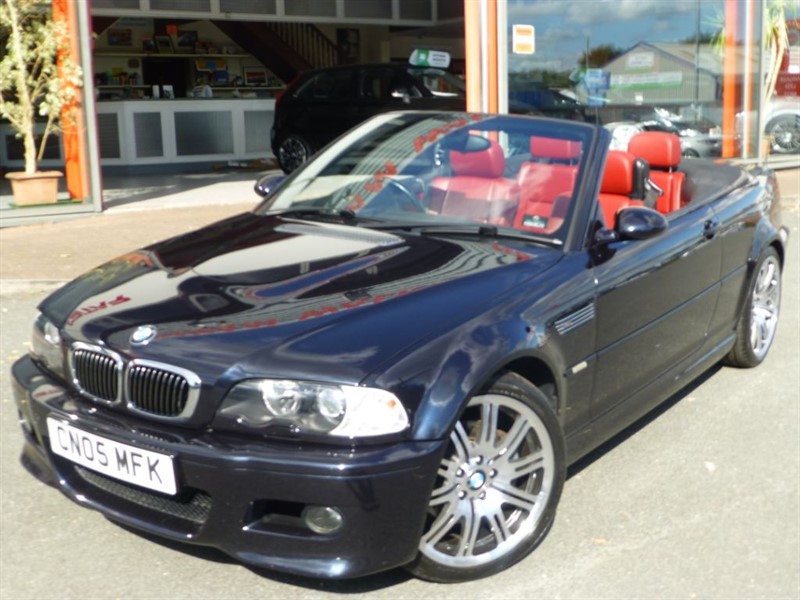 """used BMW M3 + 19"""" ALLOYS + FSH + RED LEATHER + LOW MILES + STUNNING  in chester"""