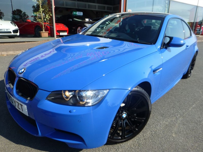 used BMW M3 LIMITED EDITION 500 + LOW MILES + FBMWSH + AS NEW CONDITION + STUNNING ++++ in chester
