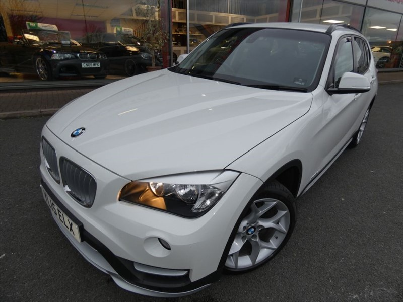 used BMW X1 XDRIVE18D XLINE + 1 LADY OWNER + HEATED LEATHER + REVERSE PARK + LOW MILES in chester