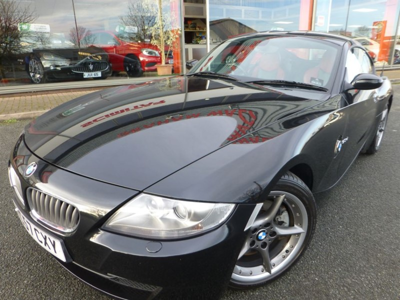 used BMW Z4 SI SPORT COUPE + HEATED TWO TONE LEATHER + FSH + REVERSE PARK + STUNNING ++ in chester