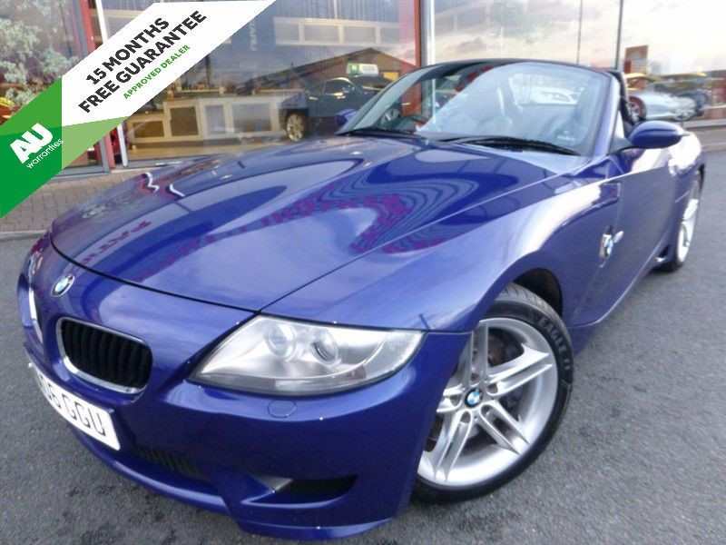used BMW Z4 M ROADSTER + FSH + POWER HOOD + STUNNING + HEATED LEATHER in chester