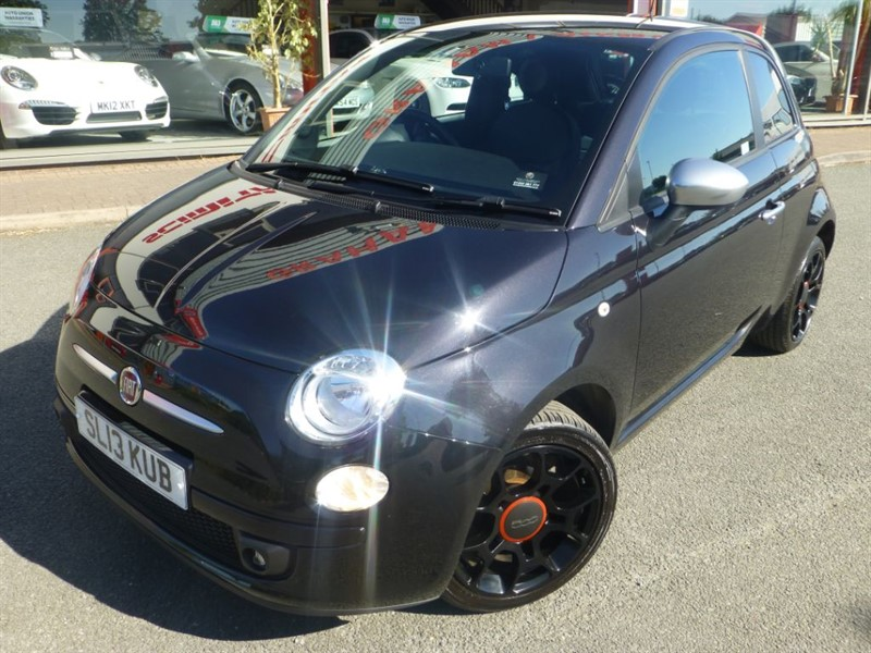 used Fiat 500 STREET + LOW MILES + FSH + LOCAL LADY OWNER + AIR-CON + REVERSE PARK SENSOR in chester