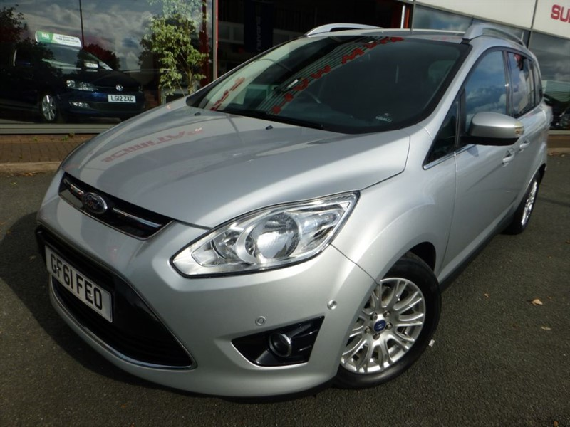 used Ford C-Max GRAND TITANIUM TDCI + LOW MILES + FFSH + 7 SEATS + PARK ACTIVE CONTROL + in chester