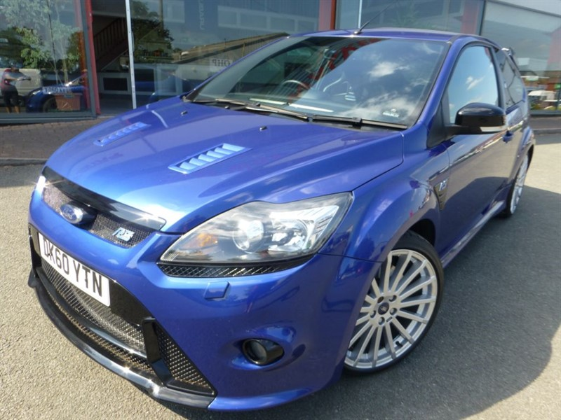 """used Ford Focus RS + 1 LOCAL OWNER LUX II + LEATHER + 19"""" UNMARKED ALLOYS + SAT-NAV + FFSH  in chester"""