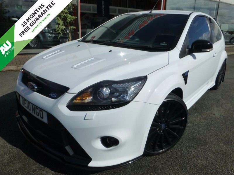 """used Ford Focus RS + 19"""" BLACK ALLOYS + FFSH + DUAL CC + S/S EXHAUST SYSTEM in chester"""