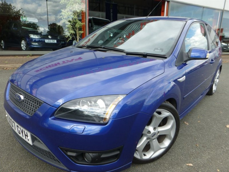 used Ford Focus ST-3 + FSH + BLACK LEATHER + LOVELY FACTORY STANDARD CAR in chester