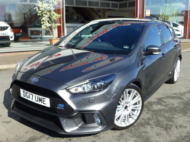 used Ford Focus RS + POWER PACK 1 + 375 BHP + 1 MATURE OWNER + SAT-NAV + LOW MILES  +++++++ in chester