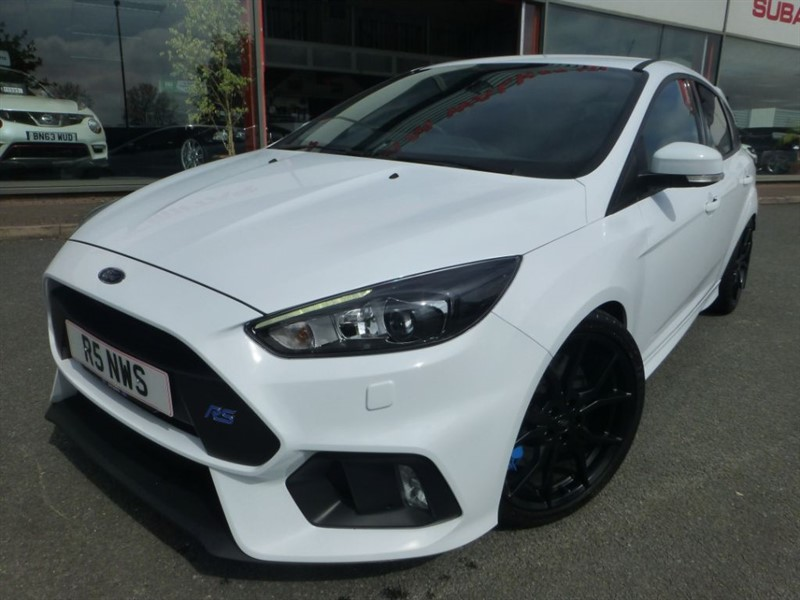 used Ford Focus RS + MOUNTUNE 380 BHP + RECARO'S + S/S EXHAUST + FACTORY UPGRADE SPRING KIT in chester