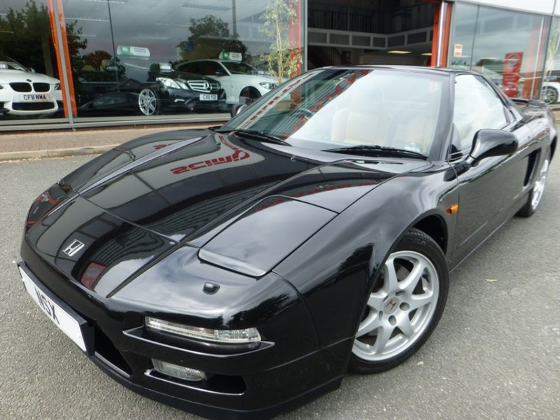 used Honda NSX V6 TARGA + PORTFOLIO HONDA SERVICE HISTORY + 1 LOCAL OWNER + CRUISE CONTROL in chester